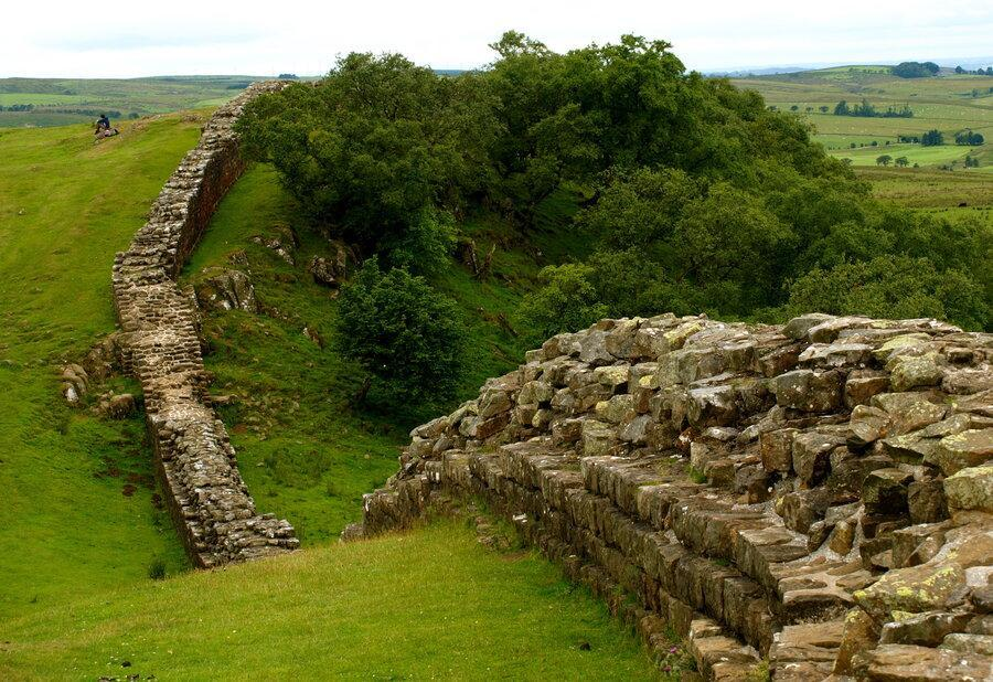 درباره معماری و بنای دیوار هادریان