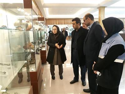 نماینده مردم ارومیه از دبیرخانه ستاد اجرایی خدمات سفر آذربایجان غربی و موزه ارومیه بازدید کرد