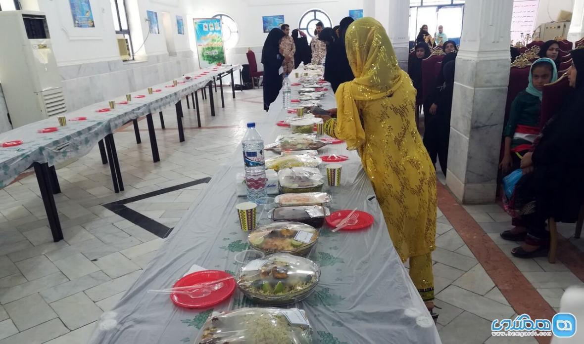 جشنواره غذاهای دریایی در ایرانشهر