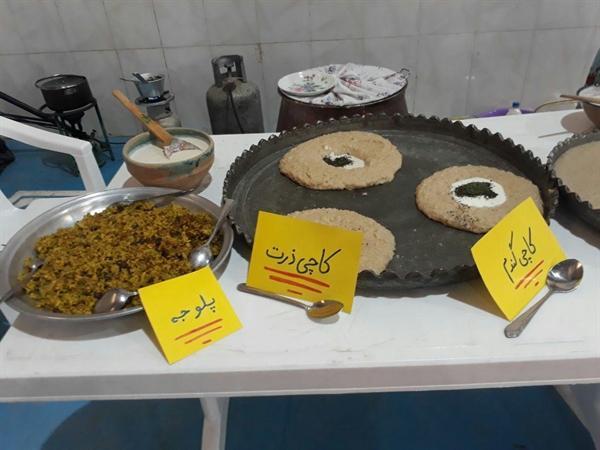برگزاری اولین جشنواره غذای سنتی کاچی در روستای فمی