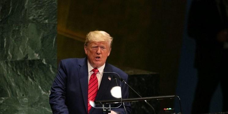مجمع عمومی 74، ترامپ: تحریم ها علیه ایران برطرف نمی شوند