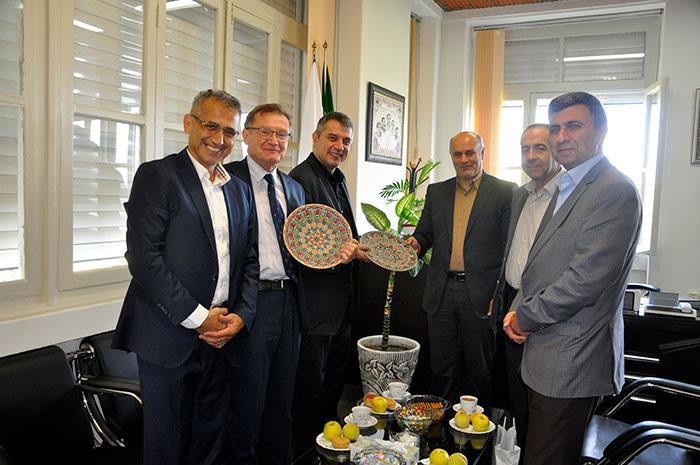 نمایندگان دانشگاه کنستانتین اسلواکی با ریاست دانشگاه مازندران دیدار و تبادل نظر کردند