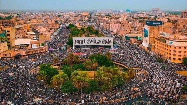 پیغام جالب یونس محمود برای معترضان بغداد