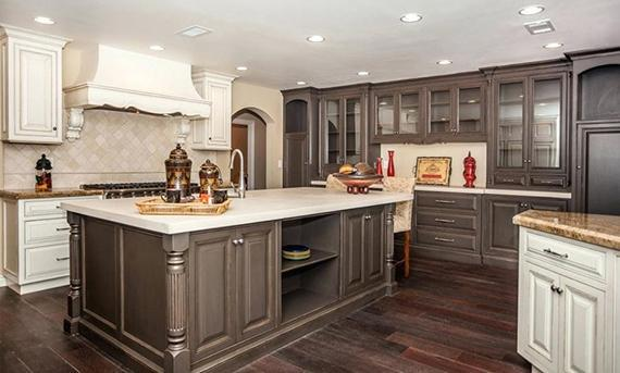 ایده طراحی آشپزخانه با پنهان سازی وسایل