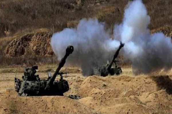 حملات توپخانه ای گسترده رژیم سعودی به الدریهمی یمن