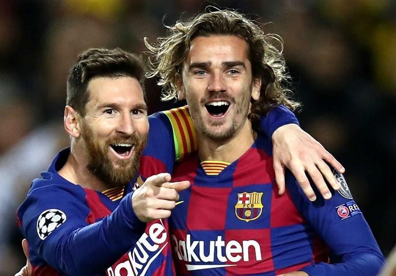 گریزمان: برای بردن جام به بارسلونا نیامده ام، شاید دیگر بازیکنی مانند مسی نبینیم