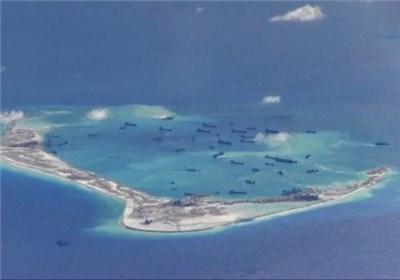 حضور ناو جنگی آمریکا در دریای جنوبی چین