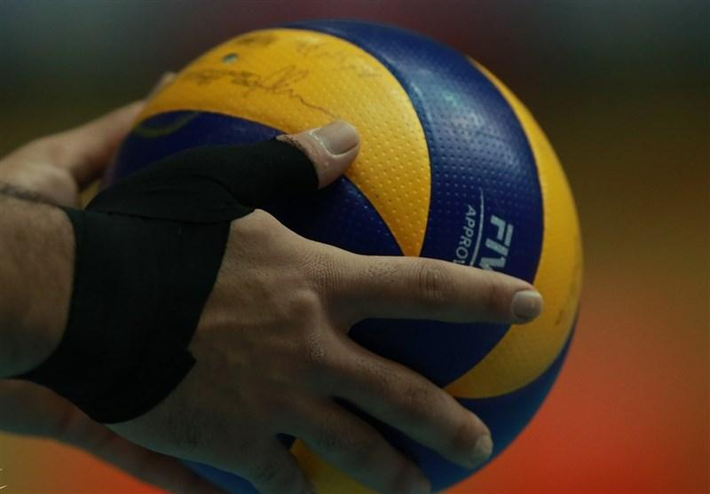 تیم والیبال جوانان حریفان جهانی خود را شناخت
