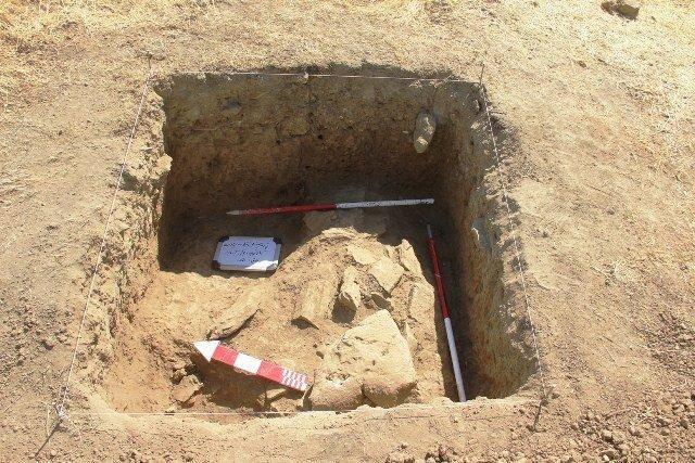 تعیین عرصه و حریم یک تپه باستانی برای نجات از نابودی