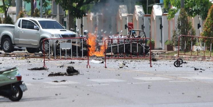 18 مجروح در انفجار دو بمب در تایلند