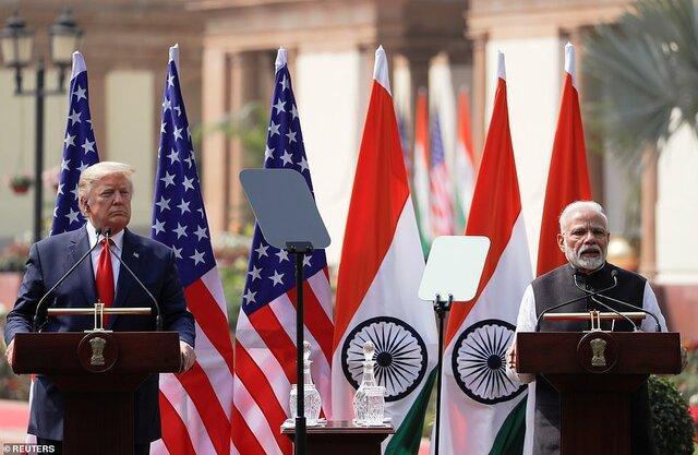 هند 3 میلیارد دلار تجهیزات نظامی از آمریکا می خرد