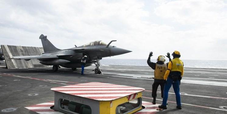 آمریکا و فرانسه در مدیترانه تمرین مشترک نظامی برگزار کردند