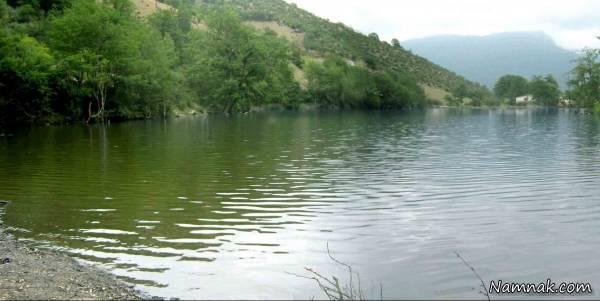 دریاچه ای بسیار زیبا و فوق العاده به نام شورمست
