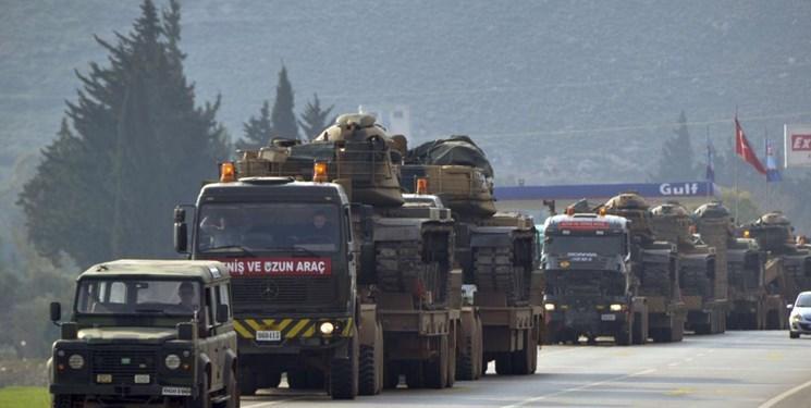 یک کاروان نظامی دیگر ترکیه در یک پست نظامی جدید در سوریه مستقر شد