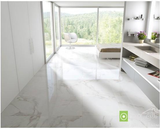 مدل کفپوش سرامیک و سنگ جدید و مدرن ، طراحی داخلی منزل