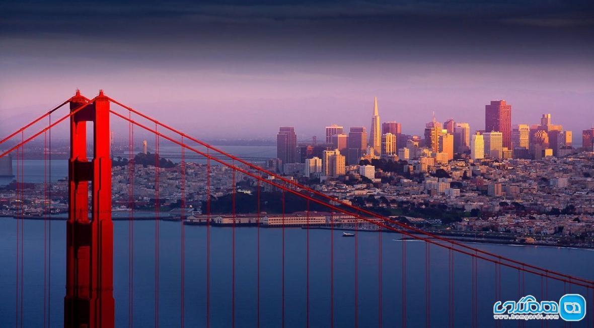 آشنایی با جاذبه های دیدنی سانفرانسیسکو در هفتاد و دو ساعت