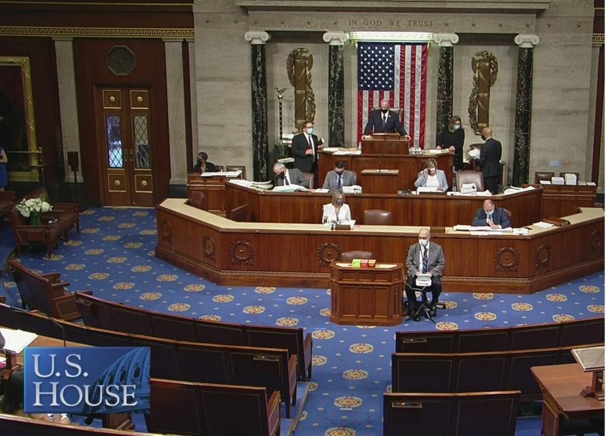 خبرنگاران مجلس نمایندگان آمریکا طرح ممنوعیت آزمایش هسته ای را تصویب کرد