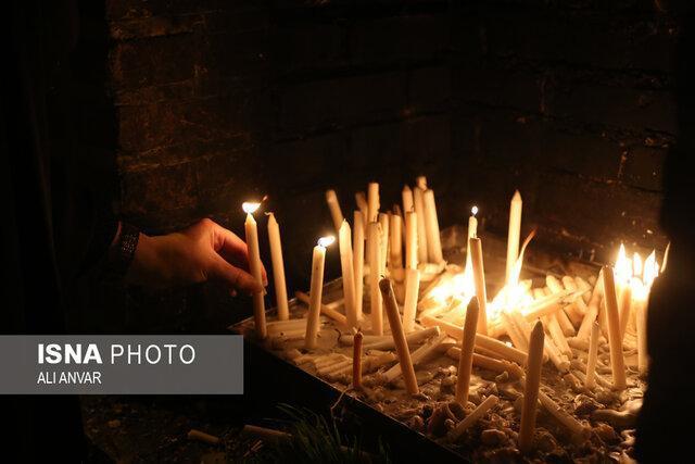 آئین سنتی شمع گردانی ، اردبیل