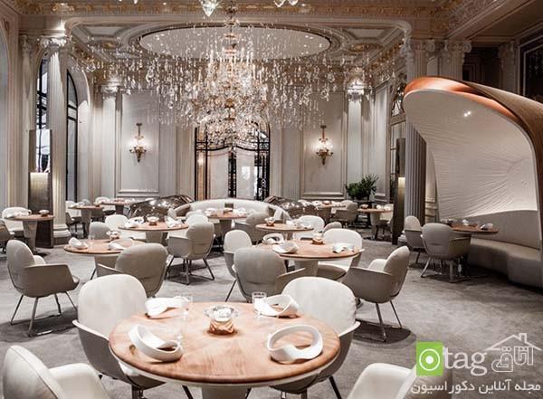 آشنایی با دکوراسیون رستوران فوق لوکس پلازا در شهر پاریس