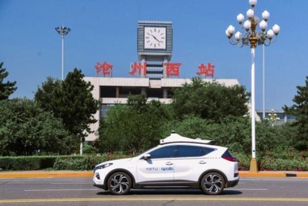 آزمایش سرویس تاکسی روباتیک در پکن