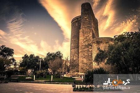 قلعه دختر؛نیایشگاه زرتشتیان در باکو