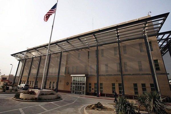 ادعای سنتکام درباره حمله راکتی به سفارت آمریکا در بغداد
