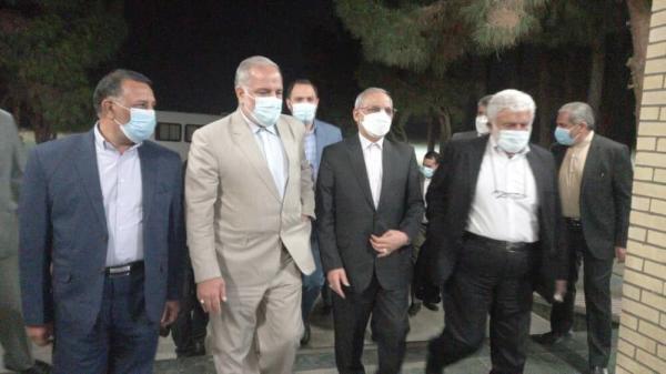 خبرنگاران وزیر آموزش و پرورش وارد زاهدان شد