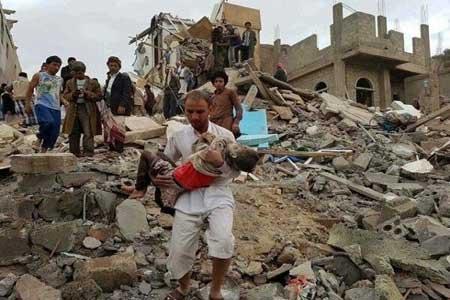 جنگنده های عربستان استان صعده را به شدت بمباران کردند