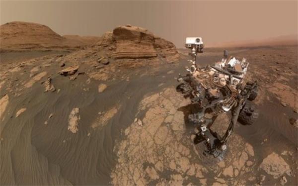 سلفی جدید مریخ نورد کنجکاوی