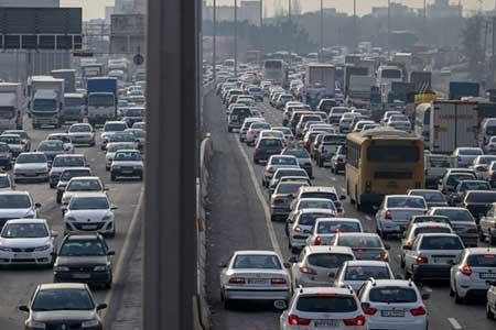 انسداد هشت جاده ، افزایش تردد خودرو در جاده ها