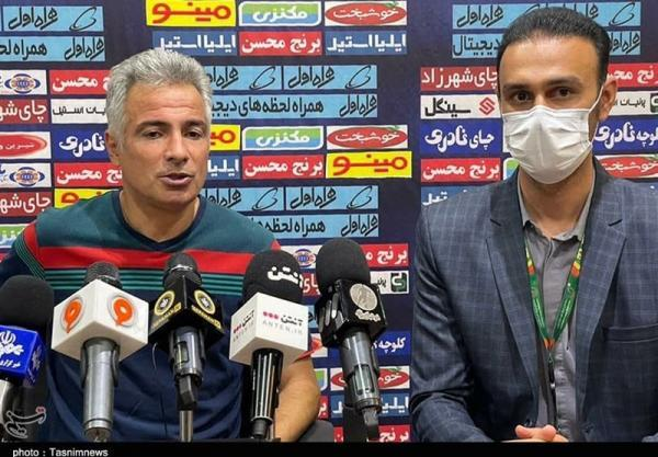 اکبرپور: بازیکنانم با تمام وجود بازی کردند، فوتبال پاکی را ارائه دادیم