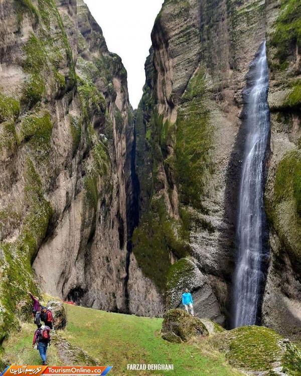 کوه افسانه ای مهراب و آبشار جادویی داله لان ، تصاویر