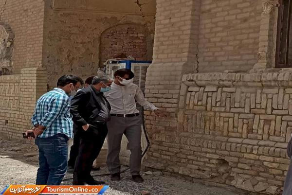 فصل پایانی بازسازی اثر بانک ایران و انگلیس شهر زابل آغاز شد