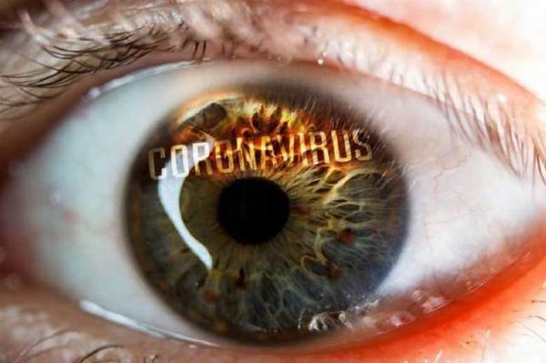 چشم ها علائم طولانی کرونا را نشان می دهند