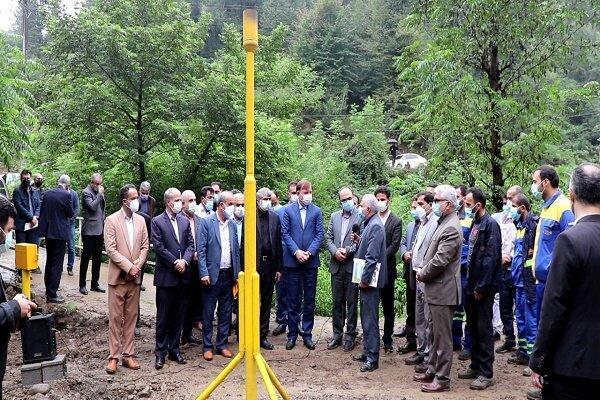 بهره برداری از پروژه گازرسانی شهرستان شفت
