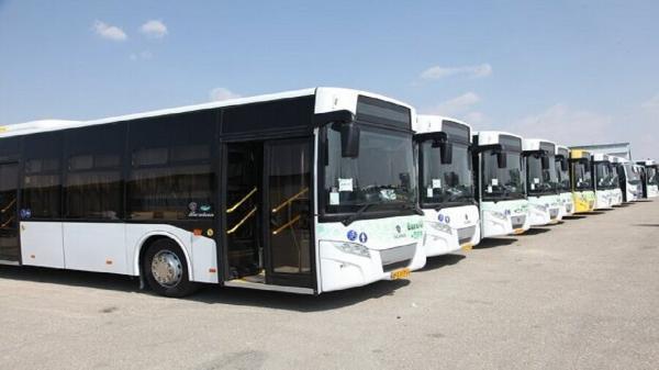 ورود 52 دستگاه اتوبوس تازه به ناوگان اتوبوسرانی قم