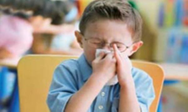 دانش آموز، خط فاصله، سرماخوردگی